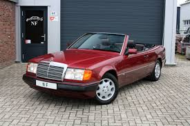 mercedes benz 300ce 24v cabriolet w124 2nd owner 1dealer