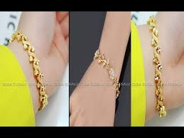 gold simple bracelet images Diy simple gold bracelet for womens latest gold bracelet designs jpg