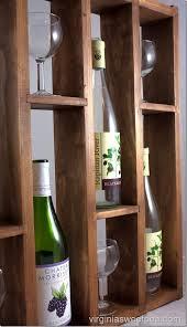 diy wine rack u2013 display your favorite wines sweet pea
