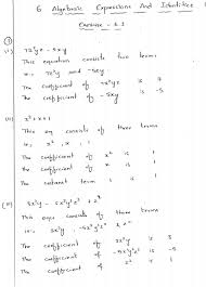 algebraic expressions and identities rd sharma class 8 solutions