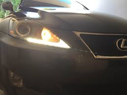 lexus sc300 headlights 2012 is250 headlight led strip went out clublexus lexus forum