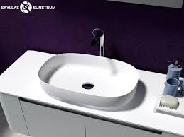 solid surface bathroom sinks solid surface vessel sink gm 2020 for sale online skyllas sunstrum