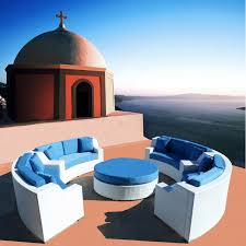 Modern Patio Furniture Cheap by Round Outdoor Wicker Sectional Sofa Patio Furniture Set Modern