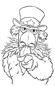 muppets grumpy bird coloring pages muppets grumpy bird