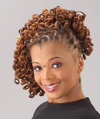 curly hair hairstyles curly loc updo black women natural