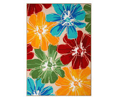 Big Lots Outdoor Rugs Wilson Fisher Anemone Multi Color Floral Indoor Outdoor Rugs