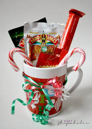 gift mugs with candy last minute diy christmas gift baby shopaholic