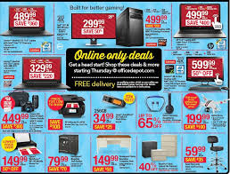 2016 home depot black friday ads black friday 2016 office depot officemax ad scan buyvia