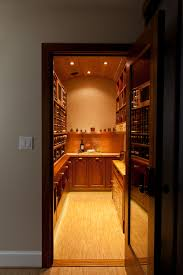 handsome wine cellar offers more than just wine storage remodeling