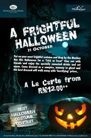a frightful halloween in sunway putra hotel awaiting best