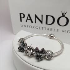 bracelet with charms images Pandora disney bracelet with 5 charms catawiki jpg