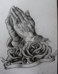 praying hands tattoo design by ifinch on deviantart