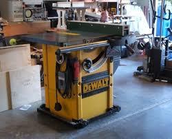 dewalt table saw dw746 tricked out dewalt dw746 full cabinet enclosure nc woodworker