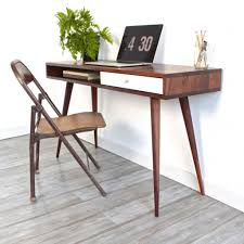 Writing Desks For Home Office Grey Composite Floor For Modern Home Office With Small Writing