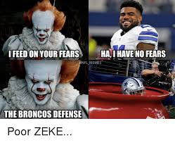 Broncos Defense Meme - ifeedon your fears ha i have no fears nfl meme the broncos defense