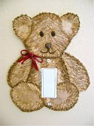 bear light switch covers teddy bear light switch cover favecrafts com