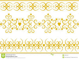stylish gold ornaments vector stock images image 25053324