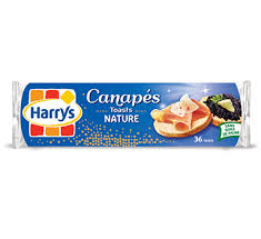 canape toast harrys toasts canapés toasts nature