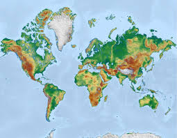 World Map With Hemispheres by Is The Mercator World Map Incorrect Reshaping How You See The