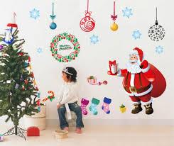 Christmas Home Decorators 2pcs Christmas Home Decorators Santa Claus Christmas Tree