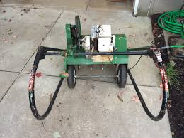can anyone id this vintage lawn aerator lawnsite