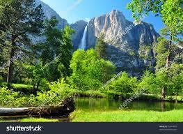 upper yosemite falls yosemite national park stock photo 56441893