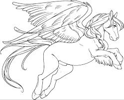 pictures of pegasus coloring page shimosoku biz