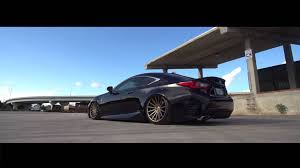 bronze lexus lexus rc 350 f sport black u0026 bronze vossen vfs 2 wheels youtube