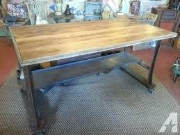 metal top kitchen island kitchen metal top island wood and stainless steel intended for