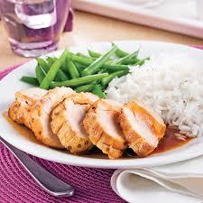 cuisiner un coq au four coq au porc sauce épicée agrumes et érable recettes cuisine et
