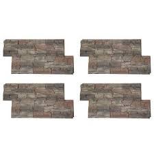 interior brick veneer home depot panels faux siding veneer siding the home depot