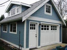 craftsman style garages definitely enough room for a lift but needs modification upstairs