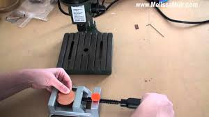 tool time tuesday using a drill press vise youtube
