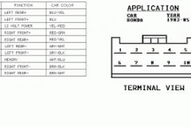 peugeot 205 radio wiring diagram wiring diagram