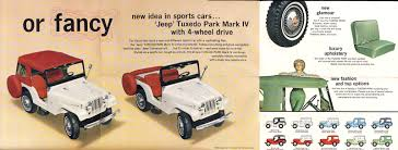 jeep cj hood 1964 cj 5 tuxedo park brochure ewillys