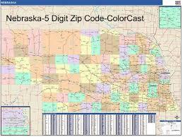 zip code map nebraska zip code map from onlyglobes com