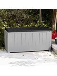 Outdoor Storage Bench Outdoor Storage Benches Amazon Com