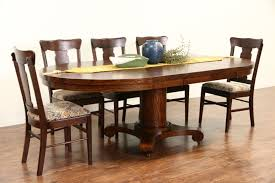 Antique Dining Room Table by Sold Round 48