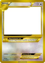 blank pokemon card mega invitation templates taylor 420x590