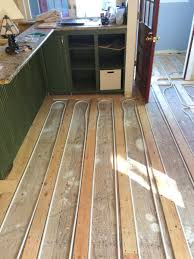 Laminate Floor Heating Energy Efficient Heating Radiant Floor Installation From Tacoma