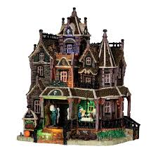 lemax halloween houses spookytown village