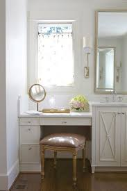 bathroom makeup vanity ideas what are the dimensions of the built in makeup vanity