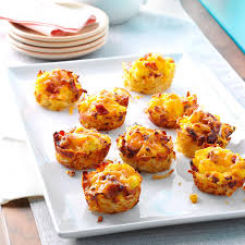 scrambled egg hash brown cups recipe taste of home