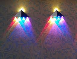 innori 5w led wall sconce lights aisle light bedroom hote triangle