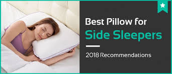 bed pillows for side sleepers 5 best pillows for side sleepers 2018 reviews ratings