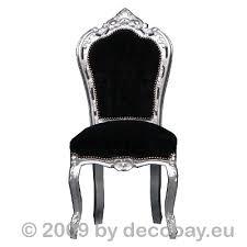 polster stühle esszimmer polster stühle esszimmer schwarz silber barock stuhl gepolstert
