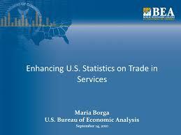 us bureau economic analysis enhancing u s statistics on trade in services borga u s