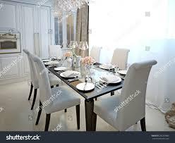 art deco dining room dining room kitchen style art deco stock illustration 292301885