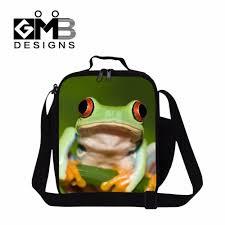aliexpress com buy cute tree frog 3 meal bag for kids