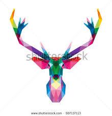 reindeer head stock images royalty free images u0026 vectors